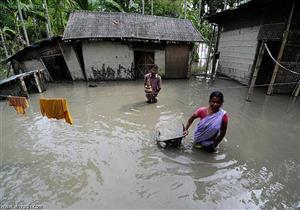 مقتل 45 شخصا جراء هطول أمطار غزيرة على بالهند