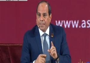 السيسي: افتتاح 4 أنفاق في سيناء نوفمبر المقبل