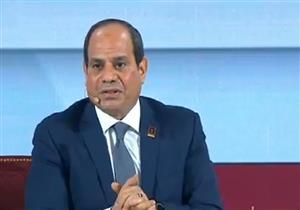 """السيسي معلقًا على قانون مرتبات الوزراء: """"البرلمان تمسك بتخفيض الزيادة.. والدولة انصاعت له"""""""
