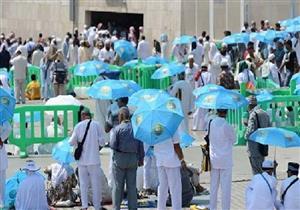 """حكم استخدام المظلة """"الشمسية"""" للمحرم"""
