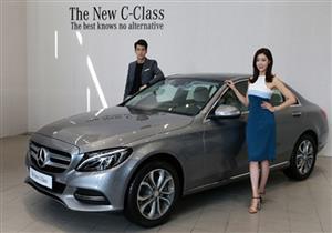 مرسيدس تحتفظ بصدارتها في سوق السيارات الفارهة بكوريا الجنوبية