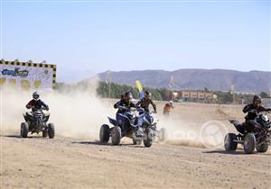 """بالصور.. نتائج اليوم الأول لسباق دراجات الـ""""ATV"""" بالجونة الدولية للموتوكروس"""
