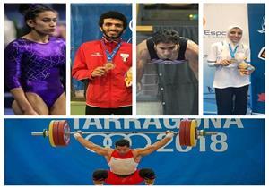 """""""مصراوي"""" يحاور 10 من أبطال مصر في """"ألعاب المتوسط"""" (ملف)"""