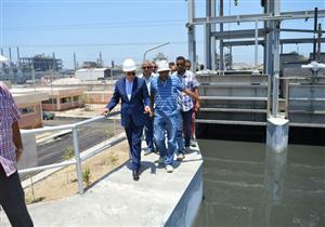 بدء التشغيل التجريبي لمحطة معالجة الصرف الصحي جنوب بورسعيد