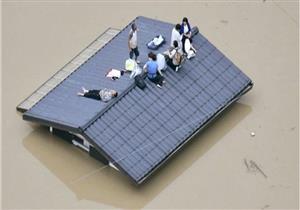 """عشرات القتلى وملايين النازحين في اليابان بسبب أمطار """"غير مسبوقة"""" (صور)"""