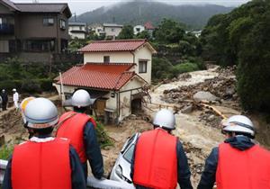 ارتفاع حصيلة ضحايا الأمطار في اليابان إلى 85 قتيلًا