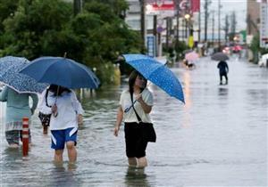 اليابان أمام كارثة.. 100 قتيل جراء الأمطار التاريخية