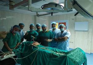 إجراء جراحة إصلاح فتق إربي أيمن بالمنظار لأول مرة بمستشفى طور سيناء