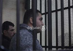 """بقضية """"مقتل عفروتو"""".. وصول ضابط وأمين شرطة المقطم لمحكمة عابدين"""