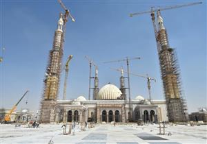 يتسع لأكثر من 7 آلاف مصلٍ.. ننشر أحدث صورة لمسجد الفتاح العليم بالعاصمة الإدارية