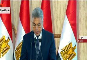 """رئيس """"الرقابة الإدارية"""" يستعرض 4 مشروعات جديدة بأسيوط وسوهاج"""