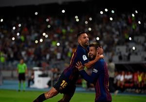 أهداف السوبر الإسباني.. إشبيلية 1-2 برشلونة