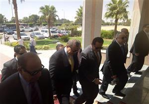 بالصور- وصول وزير القوى العاملة لجمعية المستثمرين بالعاشر من رمضان