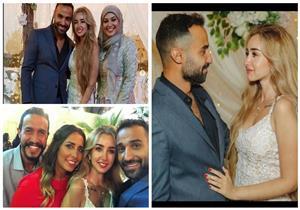 20 صورة  من حفل خطوبة هنا الزاهد وأحمد فهمي