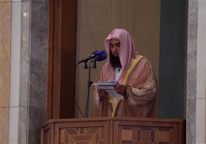 إمام المسجد النبوي محذراً من الشعارات في الحج: كبّروا حتى يبلغ التكبير عنان السماء