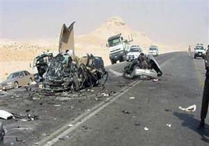 ارتفاع أعداد ضحايا حادثي بني سويف إلى 4 وإصابة 29