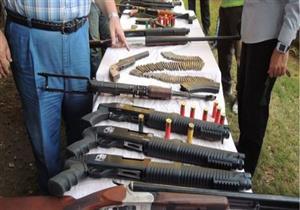 ضبط 10 أسلحة نارية وتحرير 3366 مخالفة مرورية في المنيا
