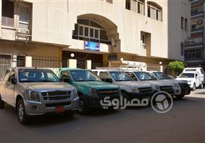 سرق سيارة شرطة.. فألقى الأمن القبض عليه وبحوزته 4 سيارات بكفرالشيخ