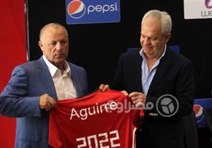 بالصور .. عناق أبو ريدة وأجيري ومونديال قطر 2022 فى تقديم مدرب المنتخب الجديد