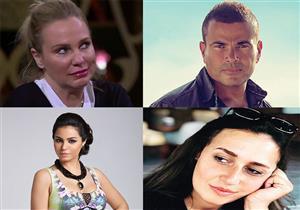 هكذا عايد النجوم جمهورهم.. عمرو دياب برسالة صوتية وليلى علوى بصورة