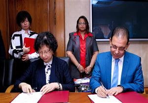 بالصور.. توقيع اتفاقية تعاون إعلامي بين مصر والصين