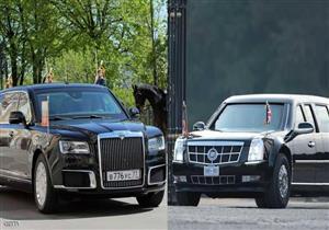 """وزير الصناعة الروسي يستعرض ما يميز سيارة """"بوتين"""" عن سيارة """"ترامب"""""""
