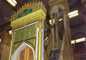 معالم من المسجد النبوي: (5) منبر الرسول