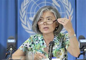 وزيرة خارجية كوريا الجنوبية تأسف لعدم عقدها محادثات رسمية مع الشمال