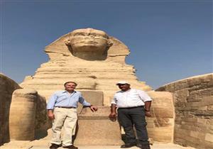 وزير خارجية إيطاليا يزور الأهرامات ومركب خوفو والمتحف الكبير