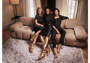 بالصور- الأحذية الذهبية أحدث صيحات موضة الخريف المقبل