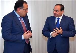 """الرئاسة: السيسى يستعرض مع """"مدبولي"""" تطورات إنشاء المدن الجديدة"""
