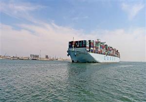 موانئ بورسعيد تستقبل 5 سفن حاويات