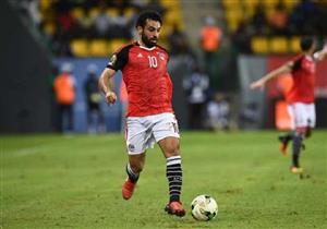 محمد صلاح يغادر القاهرة إلى لندن