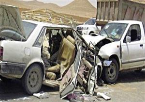مصرع  رئيس أمن الموانئ بمطروح في حادث تصادم على طريق العلمين