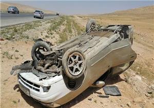 إصابة مستشار وضابط شرطة في انقلاب سيارة ببني سويف