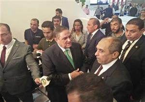 وزير الزراعة يفتتح معرض صحاري الزراعي الدولي بأرض المعارض