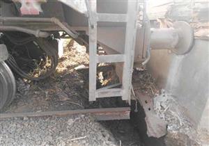 """الصحة: خروج 9 حالات من مصابي حادث قطار """"المنوفية"""""""