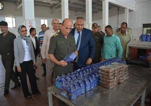 جهاز الخدمة الوطني بالقوات المسلحة يتولى تطوير مصنعي البصل والصلصلة بالوادي الجديد