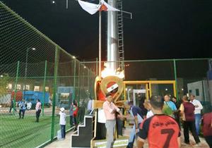 بالصور.. شعلة دوري الشركات تصل من العاصمة الإدارية إلى بورسعيد