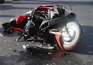 مصرع 2 وإصابة ثالث إثر تصادم دراجتين ناريتين في بني سويف