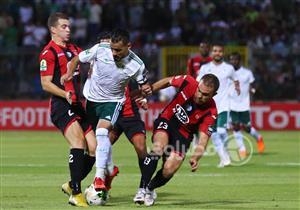 مباراة المصري واتحاد العاصمة الجزائري بالكونفدرالية