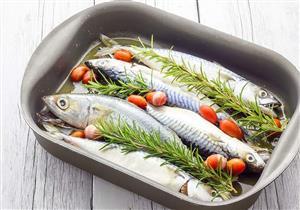 طاجن السمك لذيذ ومناسب للريجيم