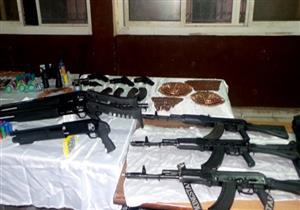 ضبط 534 قطعة سلاح في حملات أمنية على مستوى الجمهورية