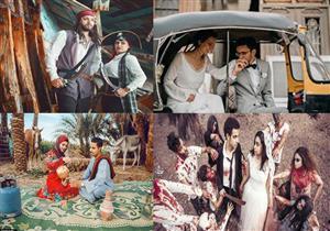 """أغرب 6 """"فوتوسيشن"""" زواج في مصر"""