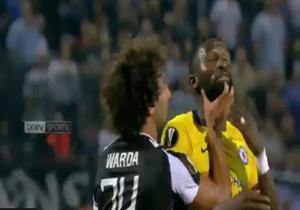 بالفيديو.. وردة يشتبك مع مدافع تشيلسي في الدوري الأوروبي