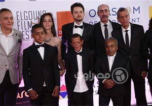 """بالصور- فريق """"يوم الدين"""" في حفل افتتاح """"الجونة السينمائي"""""""