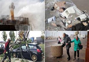 """العاصفة """"آلي"""" تضرب بريطانيا.. ضحايا وظلام وتحذير من """"الخطر الطائر"""""""