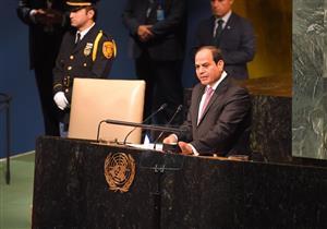 خالد عكاشة: السيسي طالب الأمم المتحدة بإيجاد حلول لأزمات المنطقة