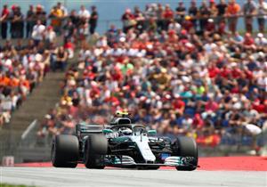"""بوتاس يتفوق على هاميلتون وفيتيل وينطلق من المركز الأول بـ""""فورمولا-1"""" الروسي"""