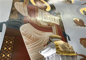 """البابا يدشن كنيسة الشهيد """"أبانوب والأنبا انطونيوس"""" بأمريكا"""
